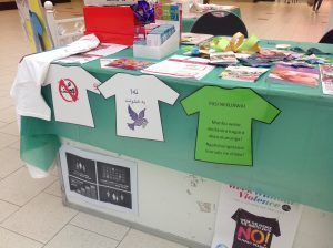 Week Without Violence Display, Broadmeadows Plaza