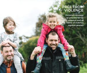 Fathers with kids on their shoulders